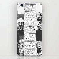 art tiles in Rome iPhone & iPod Skin