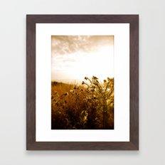 Can you hear that? Framed Art Print