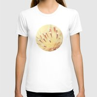 Thistle Go Pop Womens Fitted Tee White SMALL