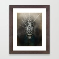 Godzilla - Land Framed Art Print