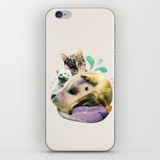 furry on the meowsea iPhone & iPod Skin