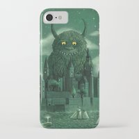 monster iPhone & iPod Cases featuring Age of the Giants  by Terry Fan