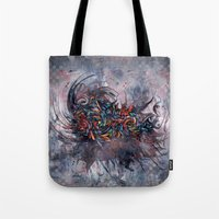 Abstract Wash 3 Tote Bag