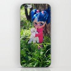 Little naughty girl Blythe iPhone & iPod Skin