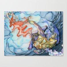 Gladiator Hammerhead Shark Canvas Print