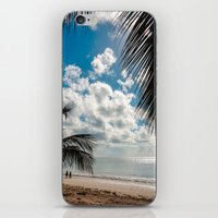 Couple at the beach iPhone & iPod Skin