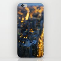 City Nights #1 iPhone & iPod Skin
