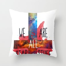 :: BE PREPARED AND DON´T BE SCARED ;) Throw Pillow