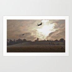 chinook apocalypse... Art Print