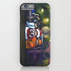 Merry Christmas World iPhone 6 Slim Case