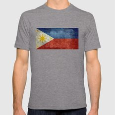 Republic Of The Philippi… Mens Fitted Tee Tri-Grey SMALL