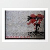 Romans 8 Art Print