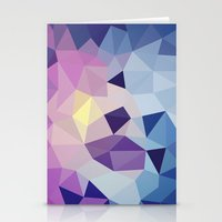 Galactic Tris Stationery Cards