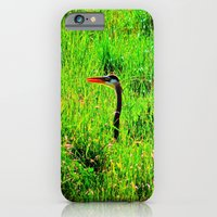 iPhone & iPod Case featuring A Visit From Blue by Biff Rendar