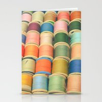 Sew a Rainbow Stationery Cards