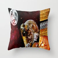 ANCIENT PERSIA Throw Pillow