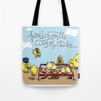 Crime Tote Bag