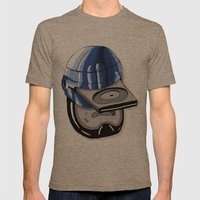 Robodisc Mens Fitted Tee Tri-Coffee SMALL