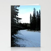 Wintertime In WaterValle… Stationery Cards