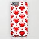 Valentine in White iPhone & iPod Case