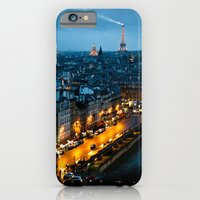 paris iPhone & iPod Cases featuring Paris by Luca Spanu