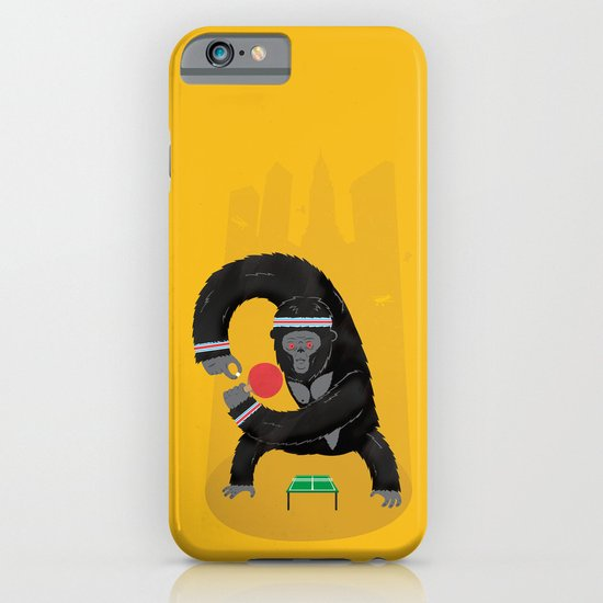King Kong Ping Pong iPhone & iPod Case