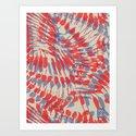 Iggy Palms Art Print