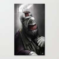 Pope of Surgery Minor Canvas Print