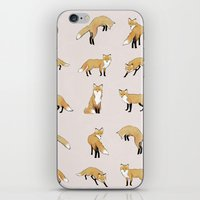 Fox pattern iPhone & iPod Skin