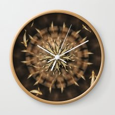 8  Koi Mandala Wall Clock