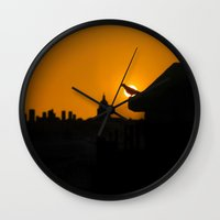 Pigeon Eclipse2 Wall Clock