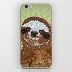 Smiling Sloth iPhone & iPod Skin