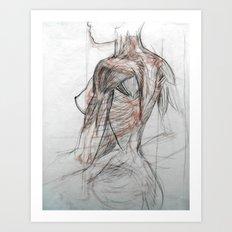 Posterior Musculature Art Print