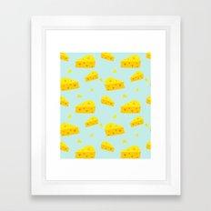 Cheesy Love Framed Art Print