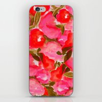 OUR SUMMER GARDEN- PINK iPhone & iPod Skin