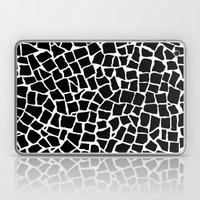 British Mosaic Black And… Laptop & iPad Skin