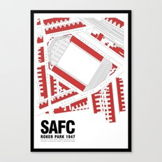 Roker Park - That Wild Roar Canvas Print
