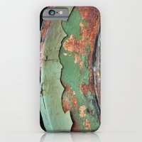 Green And Rust iPhone 6 Slim Case