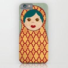 Red and Yellow Matryoshka Nesting Dolls Slim Case iPhone 6s
