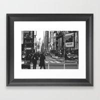 Let My Imagination Go (B… Framed Art Print
