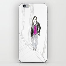 Biro Portrait of a Londoner iPhone & iPod Skin