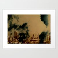 Skyline A Art Print