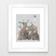 Junkyard Playground Framed Art Print