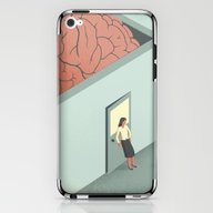 Brain Room iPhone & iPod Skin