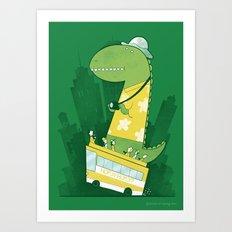Hop-on-hop-off Art Print