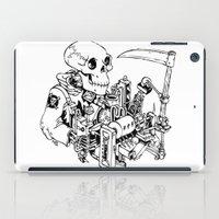 Grim Reaper - Power Scyt… iPad Case
