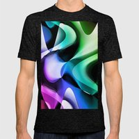 One Way or the Other Mens Fitted Tee Tri-Black SMALL