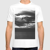 Winterton Storm Mens Fitted Tee White SMALL