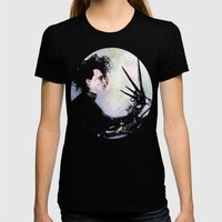 Edward Scissorhands: The… Womens Fitted Tee Black SMALL