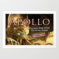 Apollo - NYCC 2013 Exclu… Art Print